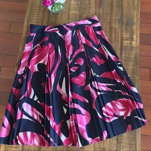 Kenneth Cole-floral graphic skirt